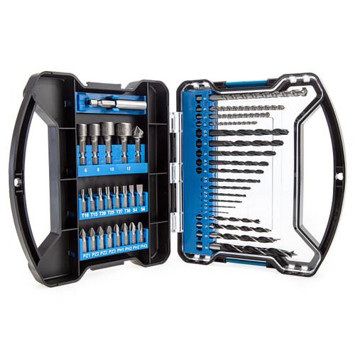 Draper 80980 Drill Bit and Accessory Set (41 piece) 1