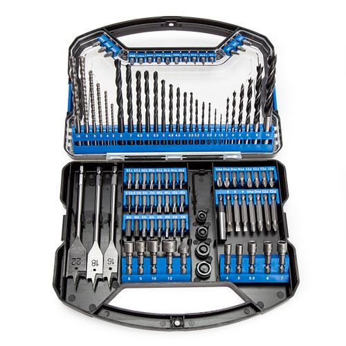 Draper 80991 Drill Bit and Accessory Set (101 Piece) 1