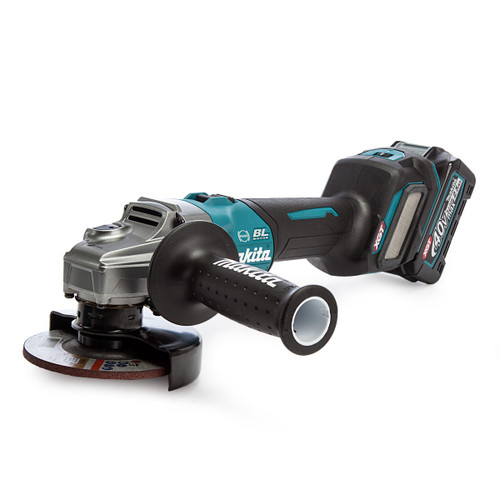Makita GA022GD101 40Vmax XGT 4.5 inch/115mm Angle Grinder in MakPac Case (1 x 2.5Ah Battery) 1