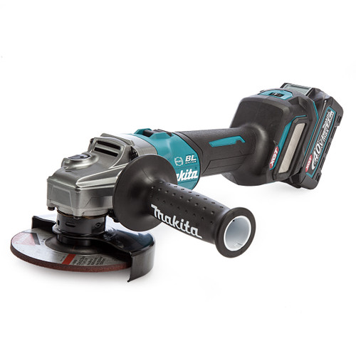 Makita GA023GD101 40Vmax XGT 5 inch/125mm Angle Grinder in MakPac Case (1 x 2.5Ah Battery) 1