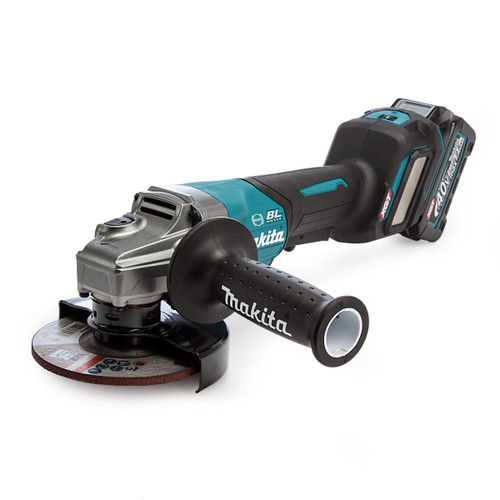 Makita GA029GD101 40Vmax XGT 5 inch/125mm Angle Grinder in MakPac Case (1 x 2.5Ah Battery) 1