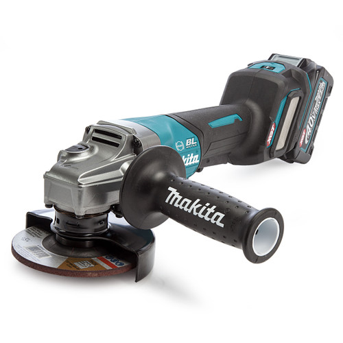Makita GA028GD101 40Vmax XGT 4 1/2 inch/115mm Angle Grinder in MakPac Case (1 x 2.5Ah Battery) 1