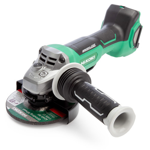 HiKOKI G3613DBW2Z 36V Multi-Volt 5 inch/125mm Angle Grinder (Body Only)