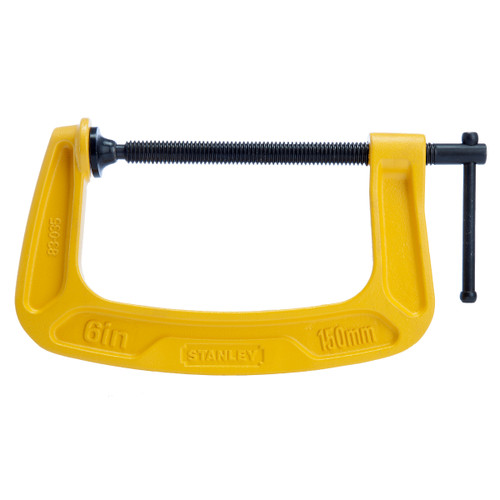 Stanley 0-83-035 MaxSteel C-Clamp 6in / 150mm