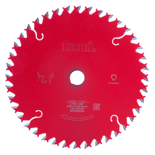 Freud F03FS03701 LP40M 006P Cross Cutting Saw Blade 160 x 2.4mm x 16 x 40T