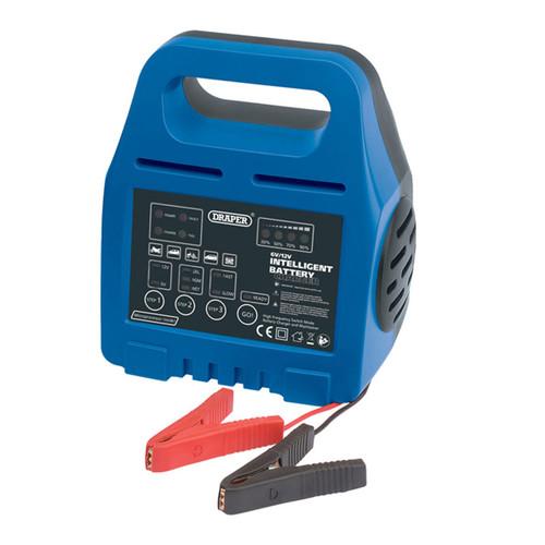 Draper 33861 6/12V Intelligent Battery Charger
