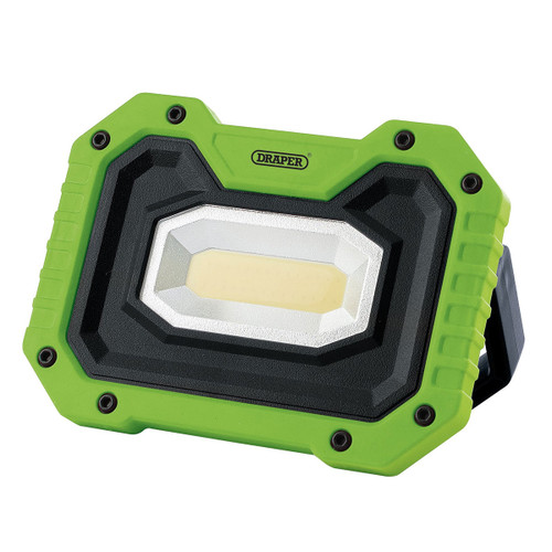 Draper 88040 COB LED Rechargeable Work Light with Wireless Speaker