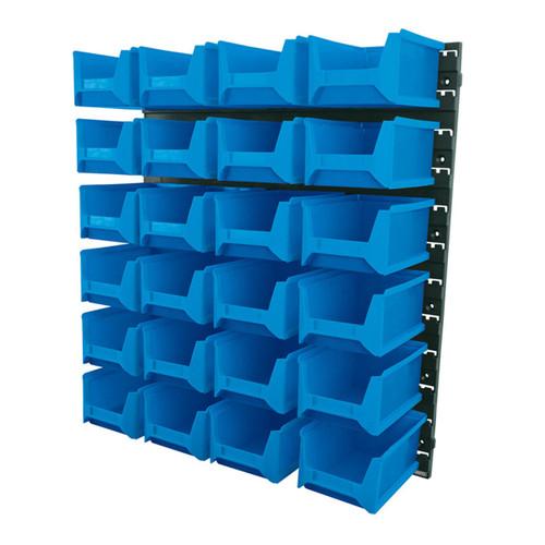Draper 06797 24 Bin Wall Storage Unit