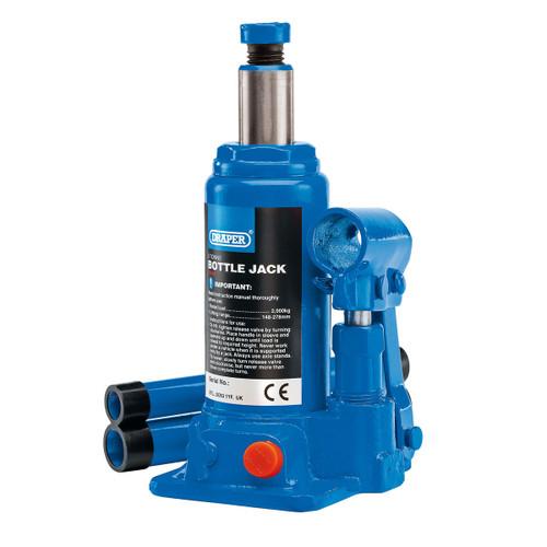Draper 13064 Hydraulic Bottle Jack 2 Tonne