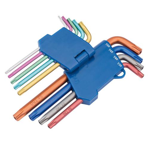 Draper 22204 TX-STAR Security Coloured Key Set