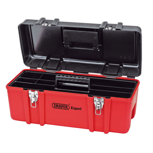 Draper 27732 Tool Box with Tote Tray 580mm