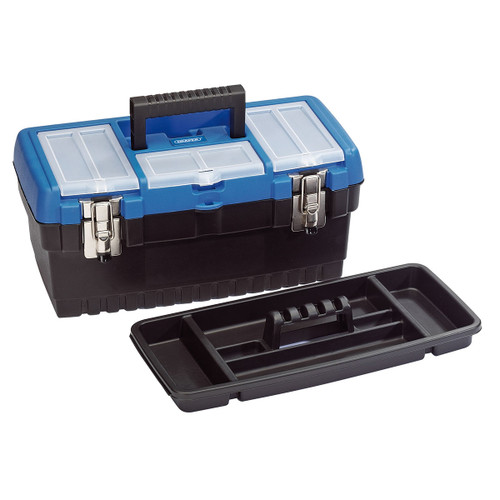 Draper 53878 Tool Box with Tote Tray 413mm