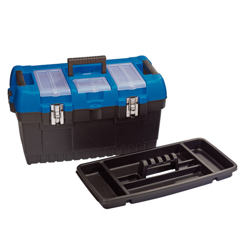 Draper 53887 Large Tool Box with Tote Tray 564mm