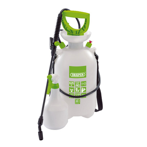 Draper 82464 Pressure Sprayer with Mini Sprayer 6.25L