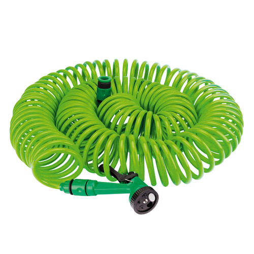 Draper 83986 Recoil Hose with Spray Gun and Tap Connector 30m