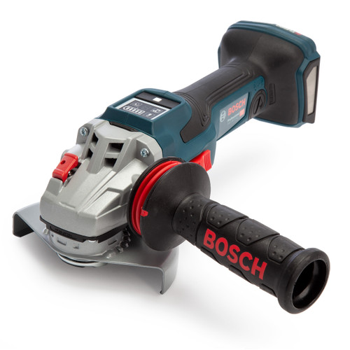 Bosch GWS 18V-15 SC BITURBO 5 inch/125mm Angle Grinder in L-Boxx (Body Only)