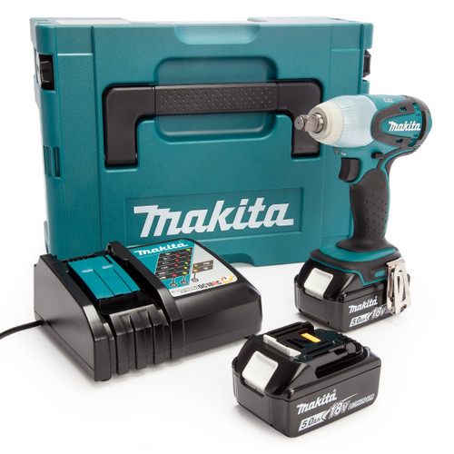 Makita DTW251RTJ 18V LXT Impact Wrench (2 x 5.0Ah Batteries) 2