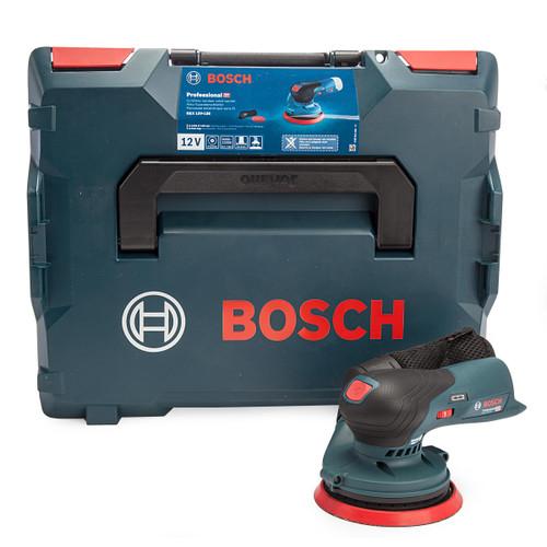 Bosch GEX 12V-125 5 inch/125mm Random Orbital Sander (Body Only) in L-Boxx 3