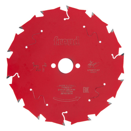 Freud F03FS09788 Circular Saw Blade for Wood 160mm x 1.3 x 20 x 14T (FR06C001H)