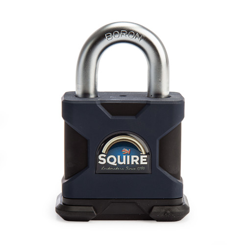 Henry Squire SS50P5 Open Shackle 5 Pin Cylinder Padlock 50mm 1