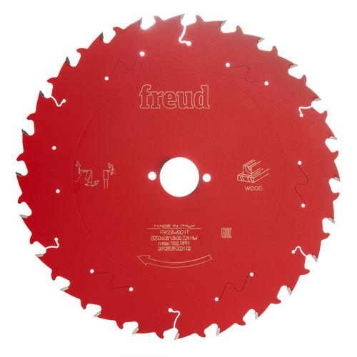 Freud F03FS09774 Circular Saw Blade for Wood 250mm x 1.8 x 30 x 24T (FR23W001T)