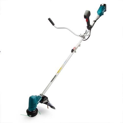 Makita DUR191URT8 18V LXT Split Shaft Bike Handle Cordless Brush Cutter (1 x 5.0Ah Battery)