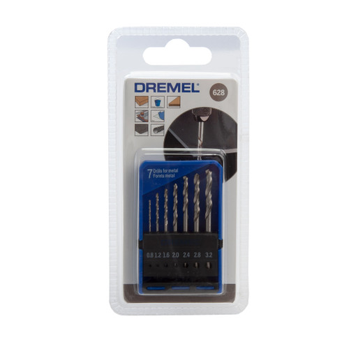 Dremel 2615062832 Precision Drill Bit Set (7 Piece)
