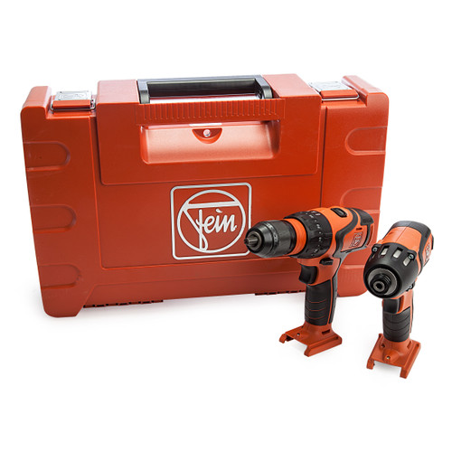 Fein 69908042007 18V Combi Drill & Impact Driver Twin Pack (Body Only) 4