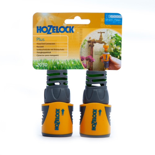 Hozelock 2050 Hose Connector Plus 12.5 - 15mm Twin Pack 1