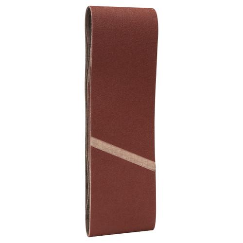 Bosch 2608607258 X440 Sanding Belts 120 Grit 75 x 533mm (3 Pack)