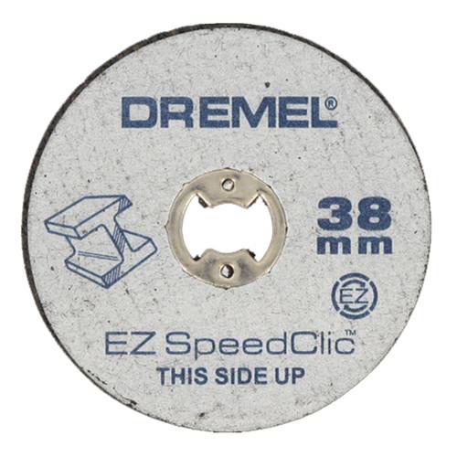 Dremel SC456 EZ SpeedClic Metal Cutting Discs 38mm (Pack Of 12)