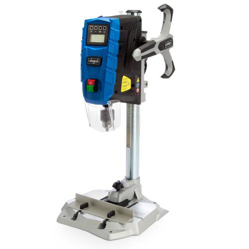 Scheppach DP55 Bench Pillar Drill with Digital Display + Laser + 13mm Chuck (240V)