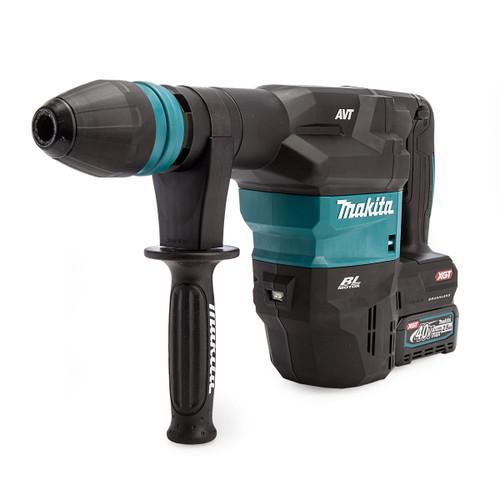 Makita HM001GD201 40Vmax XGT SDS Max Demolition Hammer (2 x 2.5Ah Batteries) 1