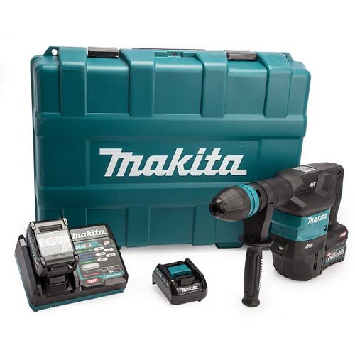 Makita HM001GD201 40Vmax XGT SDS Max Demolition Hammer (2 x 2.5Ah Batteries) 2