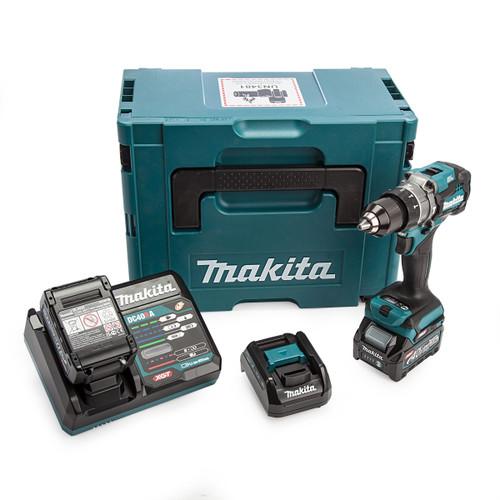 Makita HP001GD202 40Vmax XGT Combi Drill (2 x 2.5Ah Batteries) 4