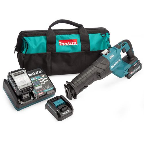 Makita JR001GD202 40Vmax XGT Reciprocating Saw (2 x 2.5Ah Batteries) 2