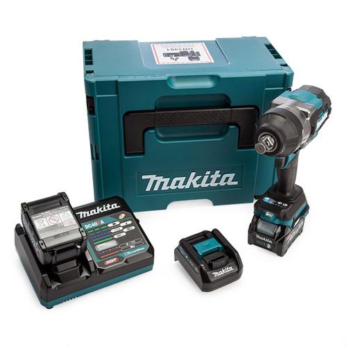Makita TW001GD202 40Vmax XGT Impact Wrench (2 x 2.5Ah Batteries) 4