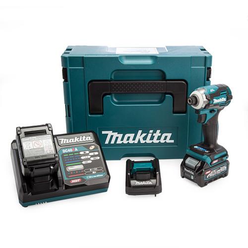 Makita TD001GD209 40Vmax XGT Impact Driver (2 x 2.5Ah Batteries) 3
