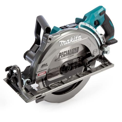 Makita RS002GD201 40Vmax XGT 260mm Circular Saw (2 x 2.5Ah Batteries)