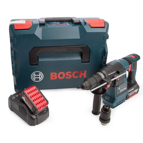 Bosch 0611910072 GBH 18V-26 F6 18V SDS Plus Rotary Hammer (2 x 6.0Ah Batteries) 3