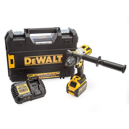 Dewalt DCD999T1 18V XR Flexvolt Combi Drill (1 x 6.0Ah Battery) 4
