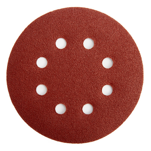 Abracs ABHL8125080 Sanding Discs 80 Grit 125mm (25 Pack)