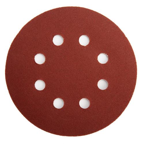 Abracs ABHL8125180 Sanding Discs 180 Grit 125mm (25 Pack)