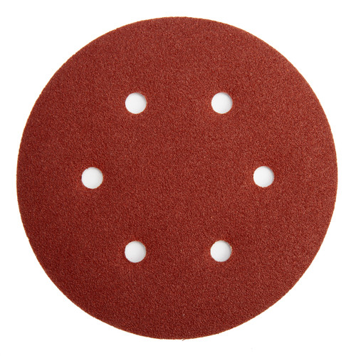Abracs ABHL8150080 Sanding Discs 80 Grit 150mm (25 Pack)