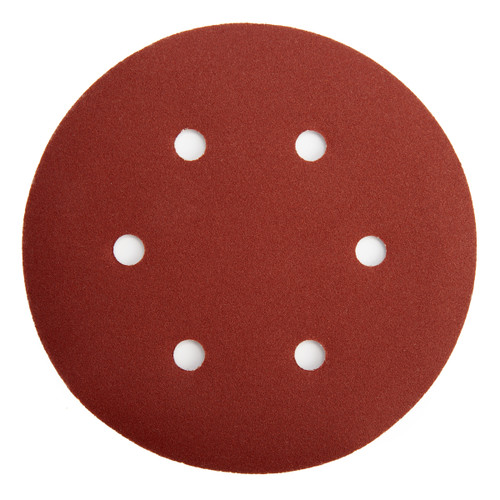 Abracs ABHL8150180 Sanding Discs 180 Grit 150mm (25 Pack)