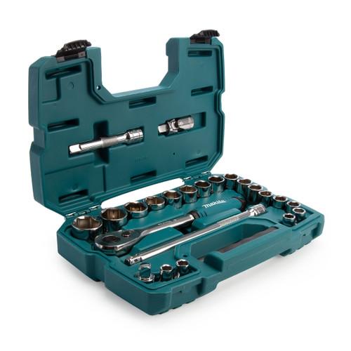 Makita B-65589 Ratchet & Socket Set
