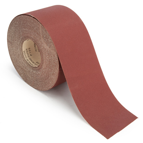 Abracs ABS11550150 Sandpaper Roll 150 Grit 115mm x 50 Metres