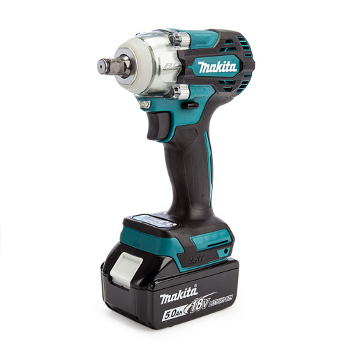 """Makita DTW300TX2 18V LXT Brushless Impact Wrench 1/2"""" Drive (2 x 5.0Ah Batteries) 1"""