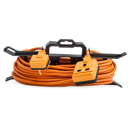 Masterplug CT1513 Single Socket Garden Extension Lead with Cable Tidy 15m 1