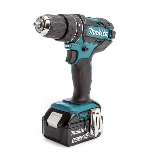 Makita DHP482RT1J 18V LXT Combi Drill (1 x 5.0Ah Battery) 1